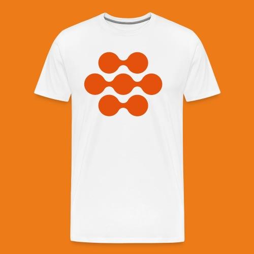 seed madagascar logo squa - Men's Premium T-Shirt