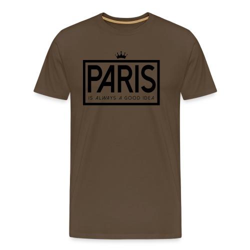 PARIS, FRANCE - Men's Premium T-Shirt