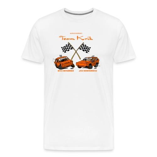 TP 138 TeamKrik definitief def - Mannen Premium T-shirt