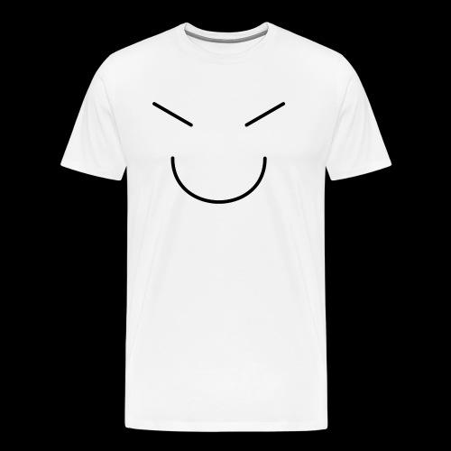 Gute Laune Schwarz - Männer Premium T-Shirt