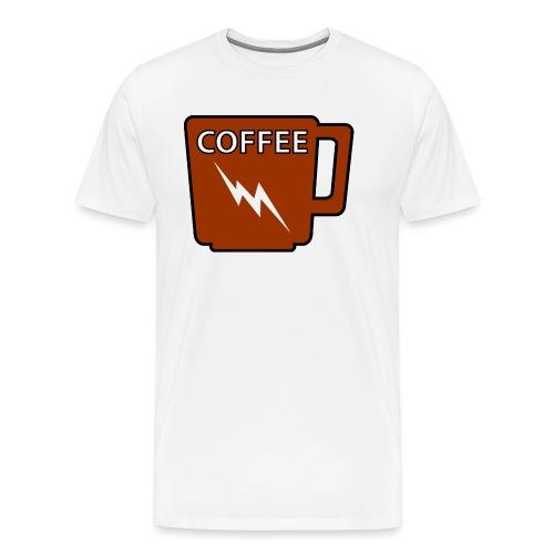 Kaffeeliebe - Männer Premium T-Shirt