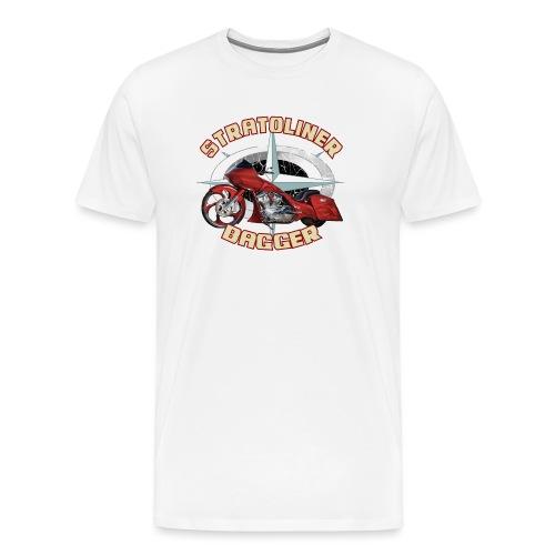 Stratoliner bagger 01 - Mannen Premium T-shirt