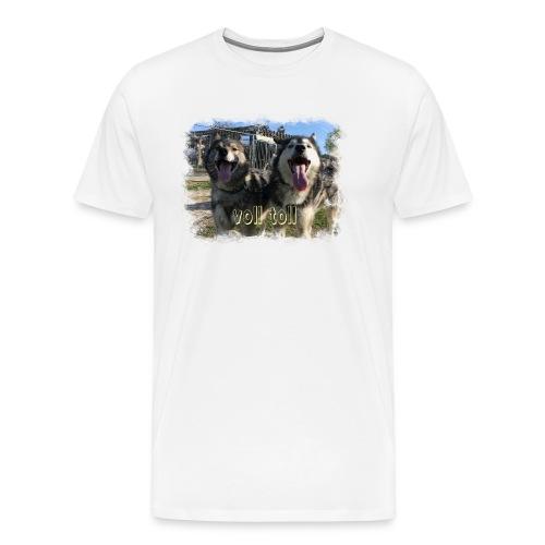 Voll toll - Männer Premium T-Shirt