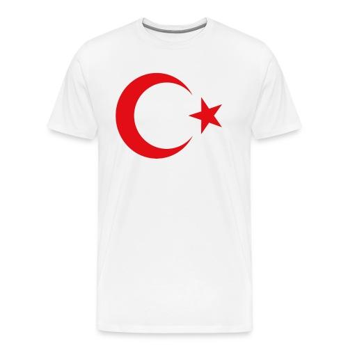 lphone 4/4S Turkey Case - Mannen Premium T-shirt