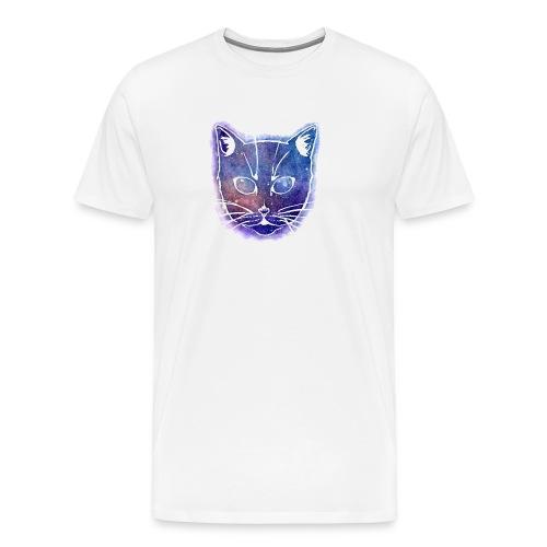 Galaxy Kitten - Männer Premium T-Shirt