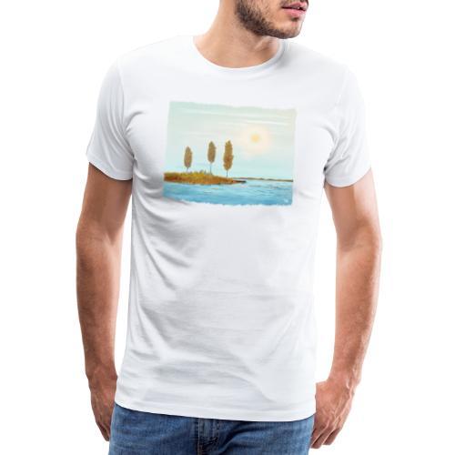 Herfst kleuren in Lapland - T-shirt Premium Homme