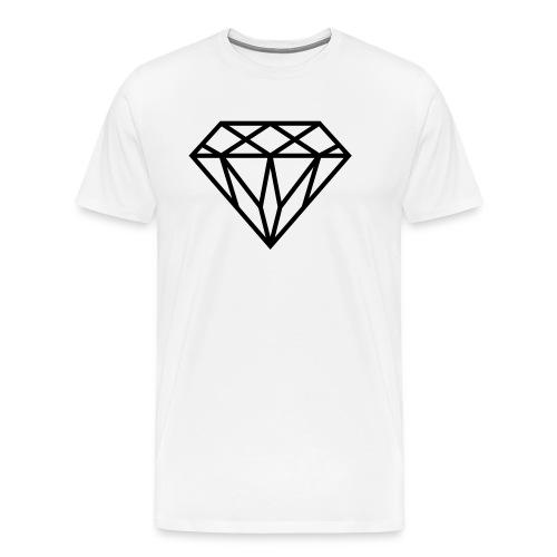 Diamond Graphic // Diamant Grafik - Männer Premium T-Shirt