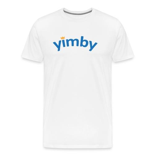 Yimby Göteborg väska - Premium-T-shirt herr