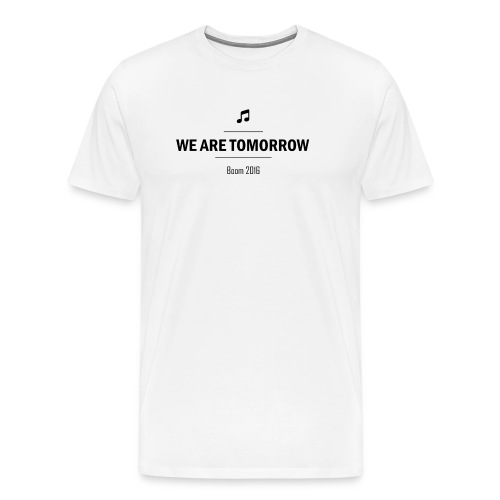 We Are Tomorrow Black - T-shirt Premium Homme
