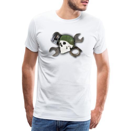 Peratec Customs Skull - Männer Premium T-Shirt