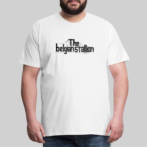 The Belgian Stallion Logo 2020 Black - Männer Premium T-Shirt