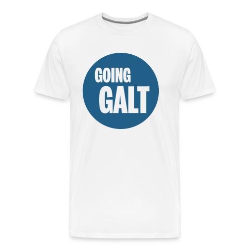 GoingGaltButton png - Männer Premium T-Shirt