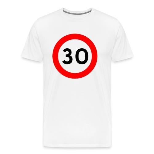 30 bord png - Mannen Premium T-shirt