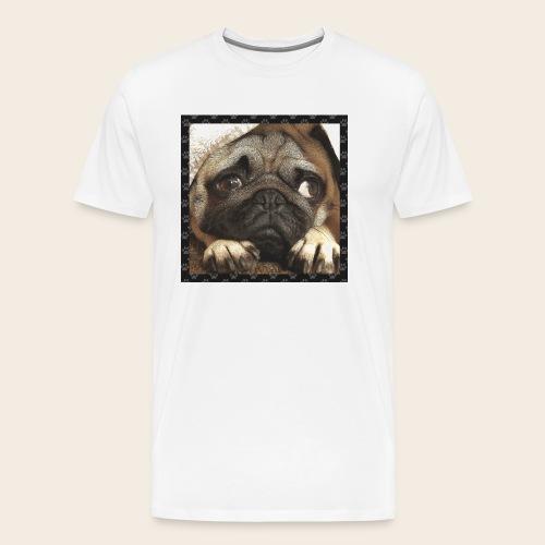 Mops Hund 1 - Männer Premium T-Shirt