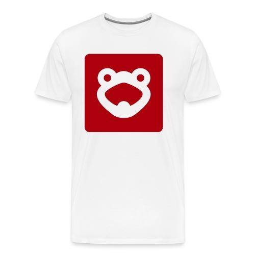 FrogTube 2 Logo - Männer Premium T-Shirt