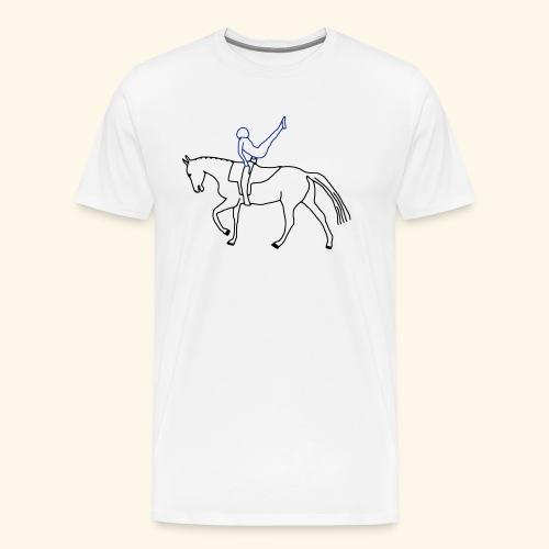 Voltigieren - Kür - Männer Premium T-Shirt