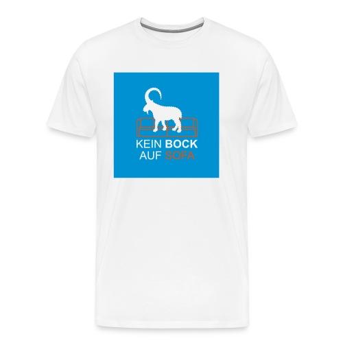 BOCK BUTTON - Männer Premium T-Shirt