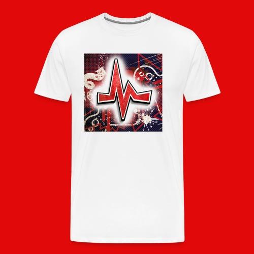 CROSSHUNTER Mousepad - Männer Premium T-Shirt