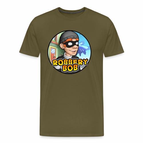 Robbery Bob Button - Men's Premium T-Shirt
