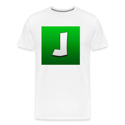 ^ - Premium T-skjorte for menn