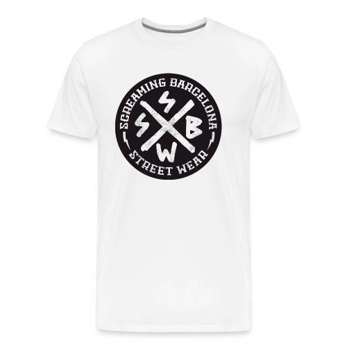 BASIC LOGO SWEATSHIRT BLACK - Camiseta premium hombre