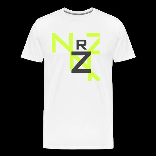 Nörthstat Group™ Clear Transparent Main Logo - Men's Premium T-Shirt
