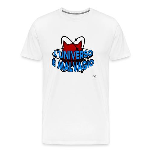 L'universo è malvagio - Maglietta Premium da uomo