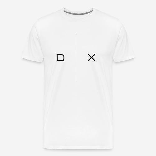 Kopp med Dysaux logo - Premium T-skjorte for menn