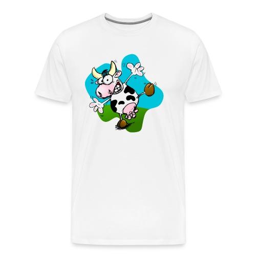 Mucca - Maglietta Premium da uomo