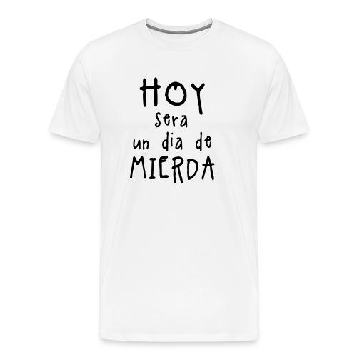 Shitty_day_en-png - Men's Premium T-Shirt