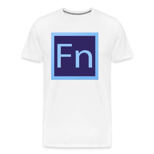 zaino con logo di falsonome - Maglietta Premium da uomo