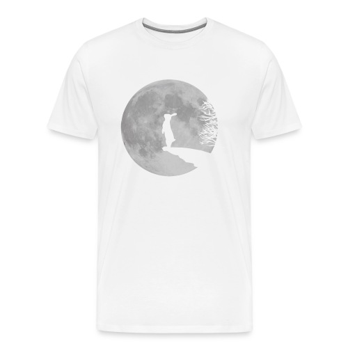 rabbit_wolf-png - Men's Premium T-Shirt