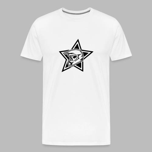 Motocross Helm - Männer Premium T-Shirt