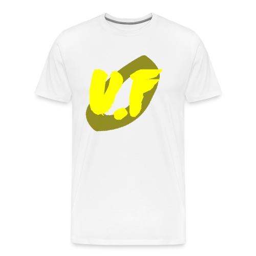 camiseta pico logo UF amarillo - Camiseta premium hombre