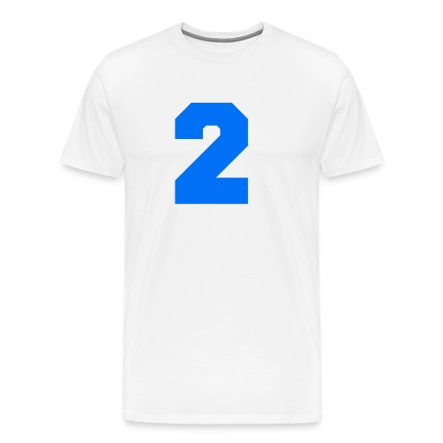 #2 HOODIE - Men's Premium T-Shirt