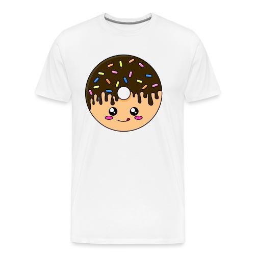 Donut Chocolat - T-shirt Premium Homme