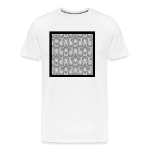 70th telly T-shirt V-Ausschnitt - Männer Premium T-Shirt