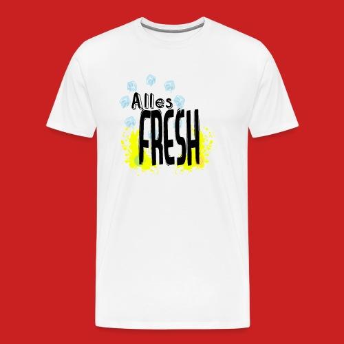 Alles Fresh / Frisch Sommer Eis - Männer Premium T-Shirt