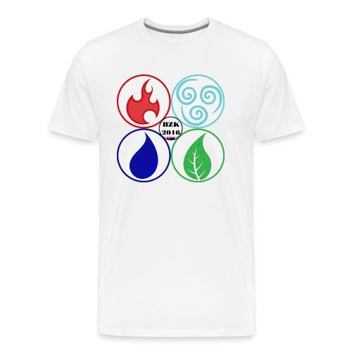 STUITERELEMENTEN4 png - Mannen Premium T-shirt