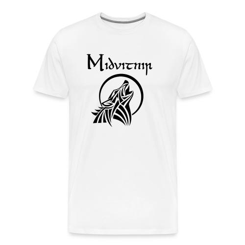 Midvitnir #3 - Premium-T-shirt herr