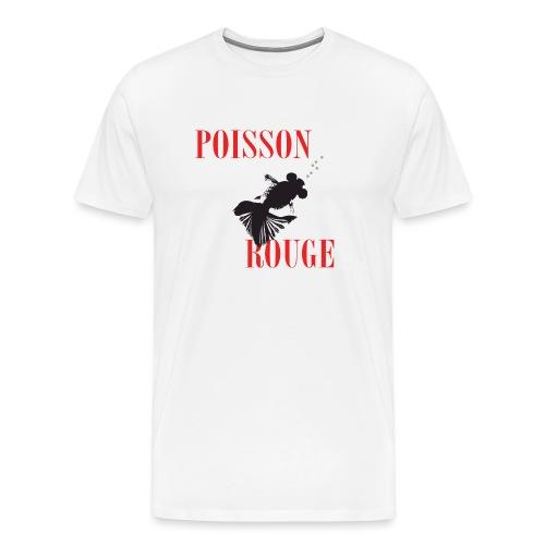 poisson rouge - T-shirt Premium Homme