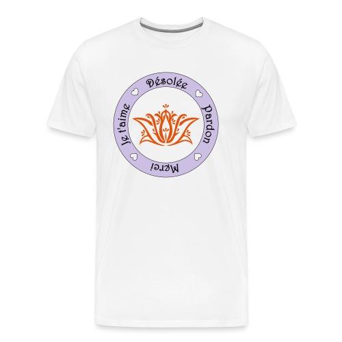 Tee shirt Bio Femme Ho oponopono - Men's Premium T-Shirt