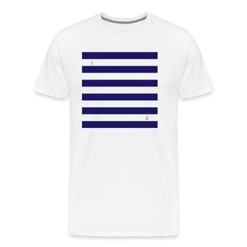 PRINT - Marinière - T-shirt Premium Homme