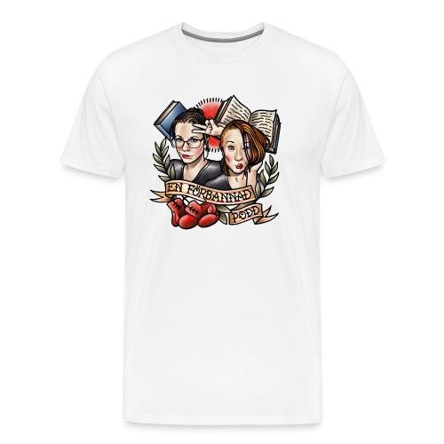 En förbannad podd - Premium-T-shirt herr