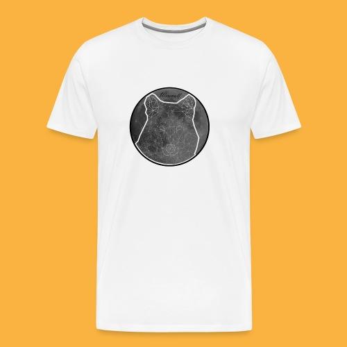 werewolfgrey - Männer Premium T-Shirt