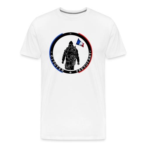 logo citoyen prevoyant2 - T-shirt Premium Homme
