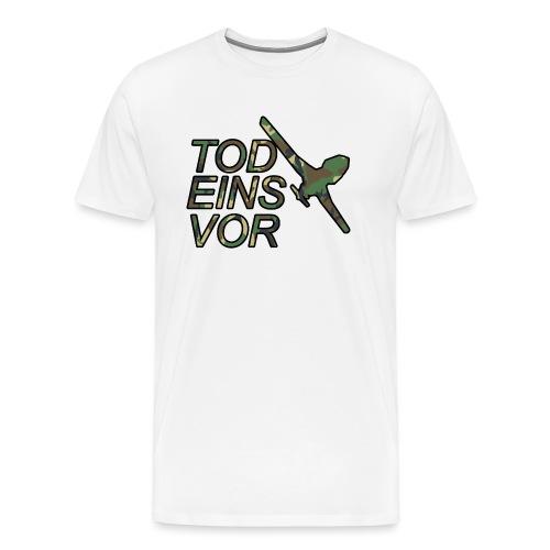 Tod Eins Vor Drohne - Camo Edition - Männer Premium T-Shirt