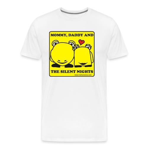 Silent Night - Men's Premium T-Shirt