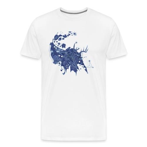 Constellation - Mannen Premium T-shirt