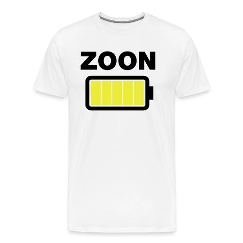 Batterij zoon vol - Mannen Premium T-shirt